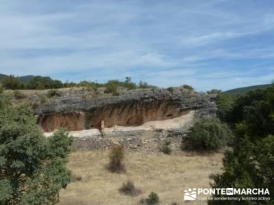 Ciudad Encantada de Tamajón - Retiendas - Almiruete;nacimiento del río cuervo;la barranca navacerr
